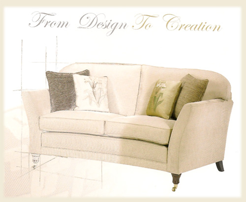 sofas available with your choice of material